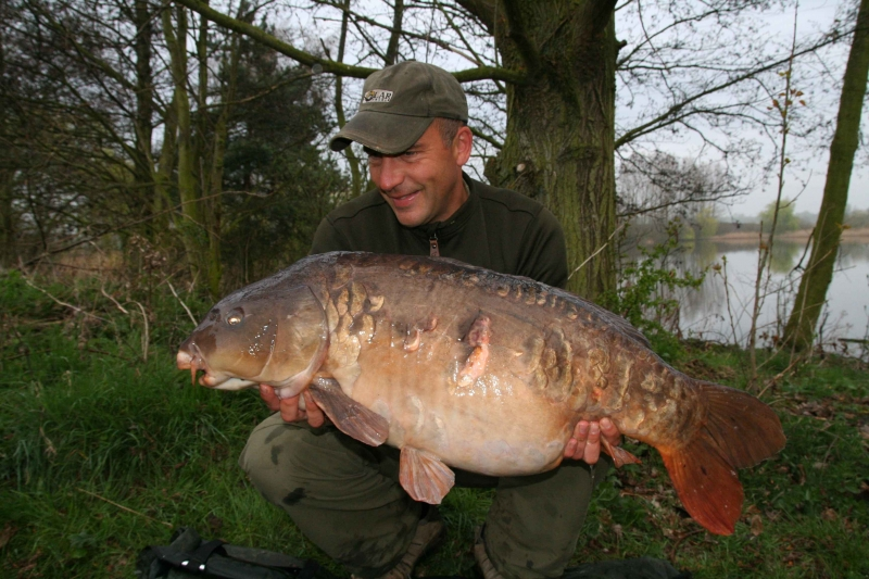 Big Scaley 37lb Manton Old Lake