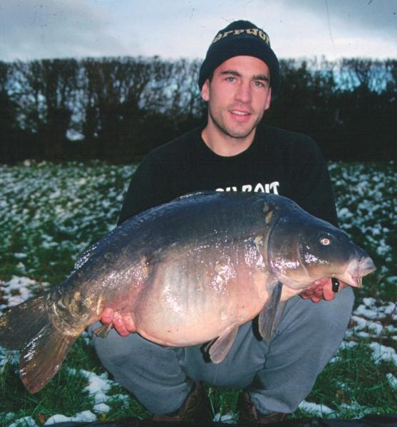 Snow-caught 30-pounder, Birch Grove