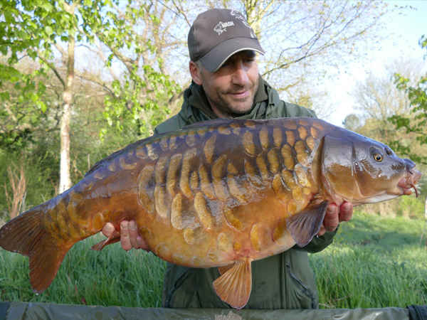30lb fully scaled, Church Lake, Essex