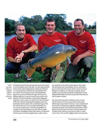 Adventures of a Carp Angler