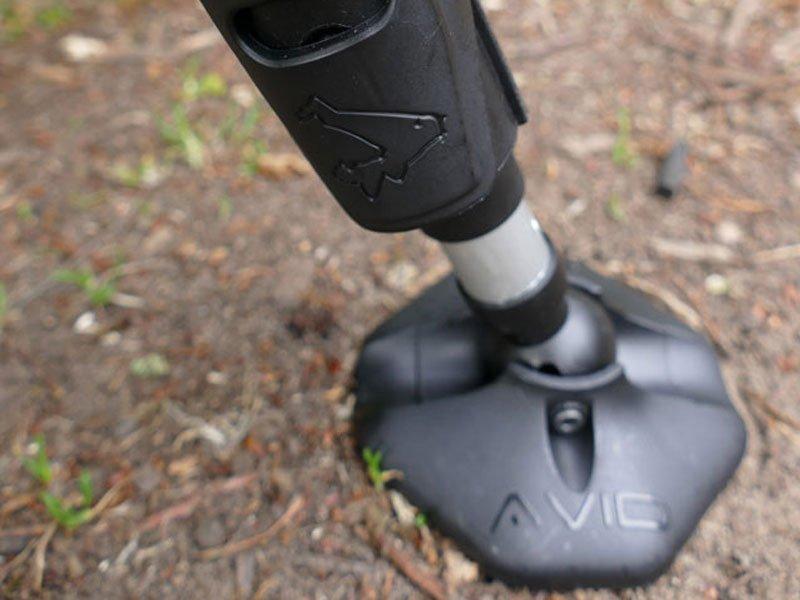 Avid Carp Benchmark X Memory Foam System mud feet