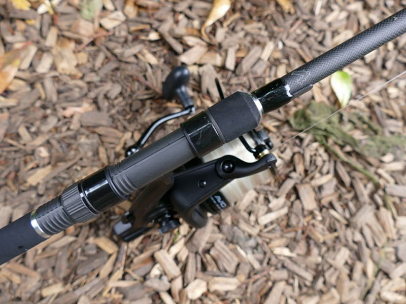 Avid Carp 12ft 3.5lb Extremity with reel fitted