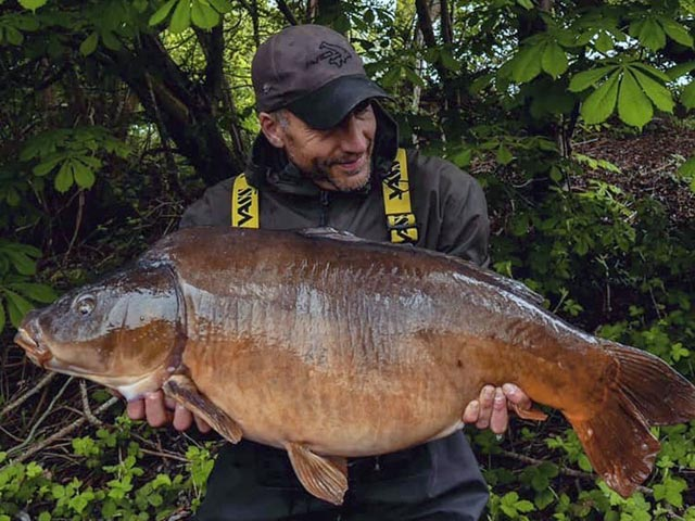 The Big Leather at 40+ from Acton's Top Lake on SLK & Captive hooklink