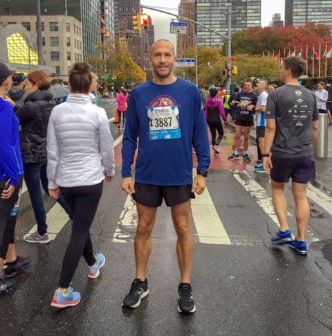 I've run three of the marathon majors, including New York, Chicago and Berlin
