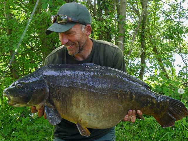 Orchid Lake's Delilah, 38lb, off the top